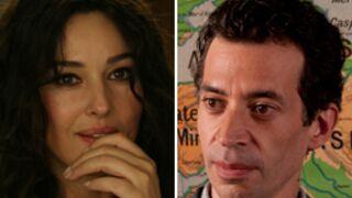 "Monica Bellucci et Eric Elmosnino ""s'embrassent"" chez Danièle Thompson"