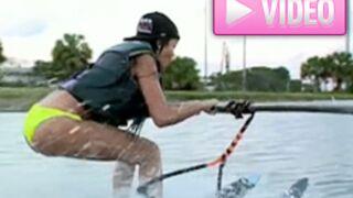 Les Anges 5 : Nabilla fait du ski nautique ! (VIDEOS)