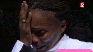 Regardez l'émotion de Laura Flessel après sa défaite aux JO 2012 (VIDEO)