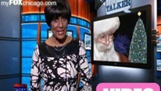 Elle annonce au JT que le père Noël n'existe pas... avant de s'excuser (VIDEO)