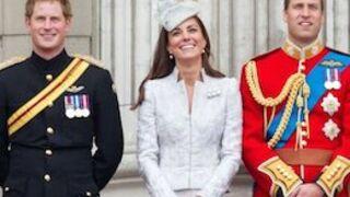 Kate Middleton, le Prince William et Harry au départ du Tour de France