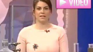 Une présentatrice croate victime d'un malaise en direct (VIDEO)