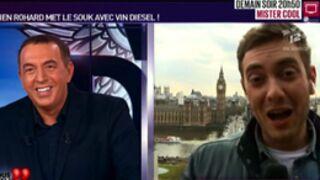 Faux duplex de Jean-Marc Morandini avec Vin Diesel dans Vous êtes en direct