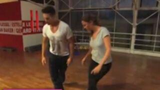 """Danse avec les stars : le """"rouli bouli"""" de Sandrine Quétier en images ! (VIDEO)"""
