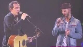 Quand Gad Elmaleh se tape l'incruste au concert de Matt Pokora (VIDEO)