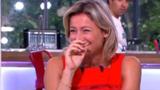 Premier fou rire pour Anne-Sophie Lapix dans C à vous (VIDEO)