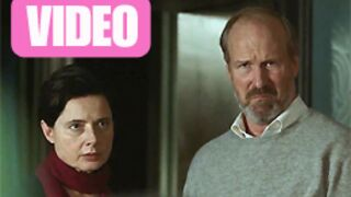 William Hurt et Isabella Rossellini, ou le cap de la soixantaine (VIDEO)