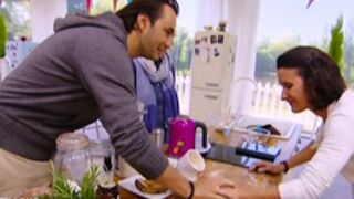 Le meilleur pâtissier : Cyril Lignac très tactile, Jessica éliminée (VIDEOS)