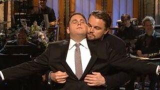 Leonardo DiCaprio et Jonah Hill rejouent une scène de Titanic (VIDEO)
