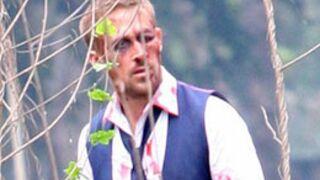 Ryan Gosling méchamment amoché sur un tournage (PHOTO)