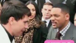 Will Smith s'énerve et baffe un journaliste en Russie (VIDEO)