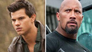 Taylor Lautner et The Rock en David et Goliath ?