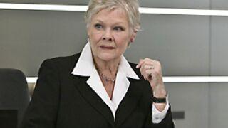 Judi Dench reste la patronne de James Bond