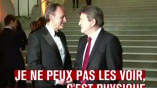 Les retrouvailles tendues entre Jean-Luc Mélenchon et Le Petit Journal (VIDEO)