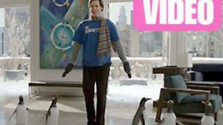 Jim Carrey voit des pingouins partout ! (VIDEO)