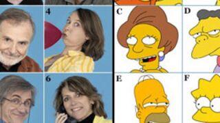 Les Simpson : devinez qui double qui ? (PHOTOS)