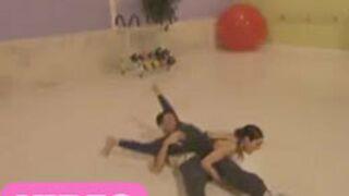 Sofia Essaïdi : la vidéo de sa chute (Danse avec les stars)