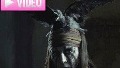The Lone Ranger : Johnny Depp en indien rock'n roll ! (VIDEO)