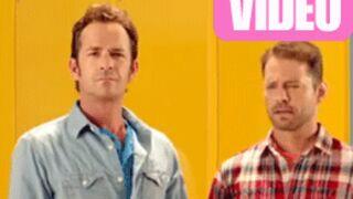 Beverly Hills : Brandon, Kelly et Dylan réunis dans une pub (VIDEOS)