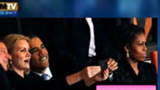 Barack Obama : Son selfie, qui énerve sa femme Michelle, fait le buzz (VIDEO)
