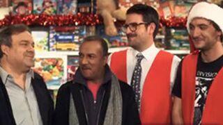 Quand Les Inconnus fêtent Noël avec le Palmashow (VIDEO)