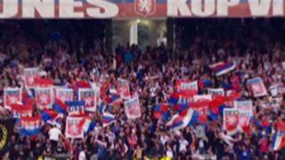 Quand l'OL fêtait ses titres de champion de France au Parc des Princes (VIDEO)