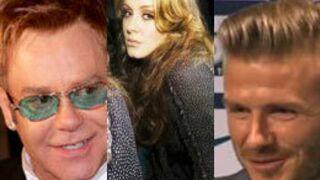 Adele, David Beckham et Elton John méchants au cinéma ?