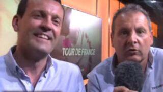 Tour de France : Cédric Vasseur et Thierry Adam, nouveau duo de France Télé