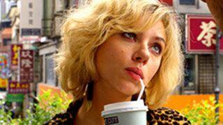 Carton pour Lucy (Luc Besson) lors des premières séances