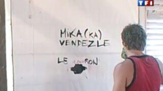 Escalade de graffitis dans La Ferme Célébrités !