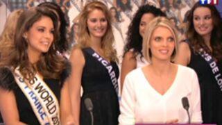 Miss France 2014 : Les 33 Miss sur le plateau de TF1 avec Marine Lorphelin (VIDEO)