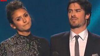 People's Choice Awards : Nina Dobrev et Ian Somerhalder plaisantent sur leur rupture