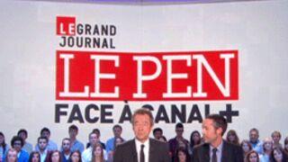 Record pour Le Grand Journal  spécial Le Pen (C+)
