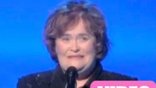 Susan Boyle rate sa prestation en direct (VIDEO)