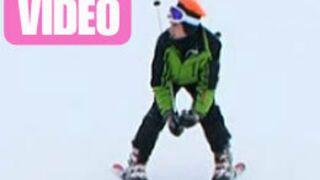 Les Ch'tis font du ski : La première descente de Christopher (VIDEO)