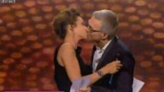 Victoires de la Musique : Ruquier embrasse Virginie Guilhaume (VIDEO)