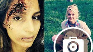 Twitter : Laury Thilleman balafrée (pour un rôle), le tatouage de Caroline Receveur... (36 PHOTOS)