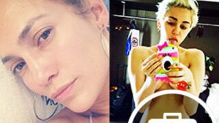 Instagram : Jennifer Lopez au naturel, Marine Lorphelin au Maroc, Miley Cyrus topless (35 PHOTOS)