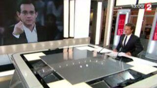L'annonce du décès de Jean-Luc Delarue au 13h de France 2 (VIDEO)