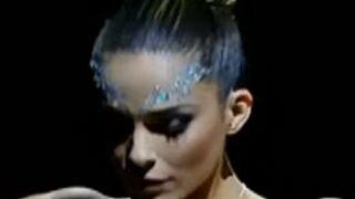 Ice Show : Clara Morgane éliminée (VIDEOS)