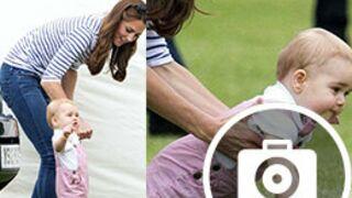 Les premiers pas de l'adorable petit prince George, encouragé par maman Kate (20 PHOTOS)