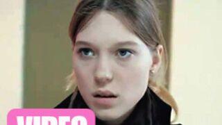 Léa Seydoux envoûte Olivier Gourmet (VIDEO)