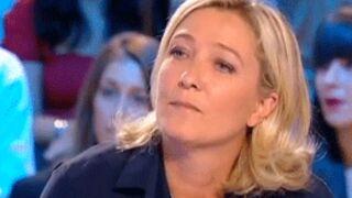 """Marine Le Pen """"discriminée"""" par la télé ?"""