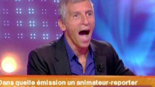 Zapping Jeux : Nagui dragué et choqué par une candidate perchée et... nulle (VIDEO)