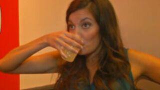 La Speakerine ne boit (malheureusement) pas que de l'eau...
