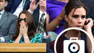Wimbledon 2014 : Kate et William à fond, Victoria Beckham s'ennuie... (21 PHOTOS)
