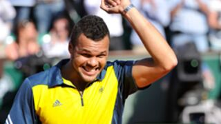 Roland-Garros : L'exploit de Tsonga, Serena Williams qualifiée (PHOTOS)
