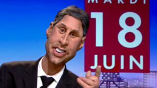 Les Guignols se moquent d'Antoine de Caunes au Grand Journal (VIDEO)