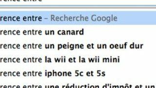 """Google : pourquoi les gens tapent """"quelle est la différence entre..."""" ?"""