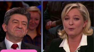 Spectacle surréaliste entre Le Pen et Mélenchon sur France 2 (VIDEO)